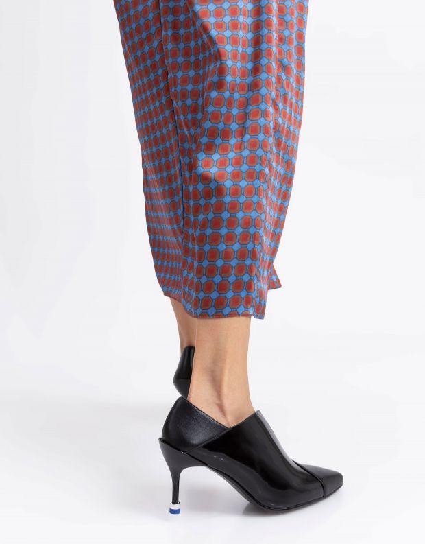 נעלי נשים - United Nude - נעלי עקב SQUARE PUMP MID - שחור