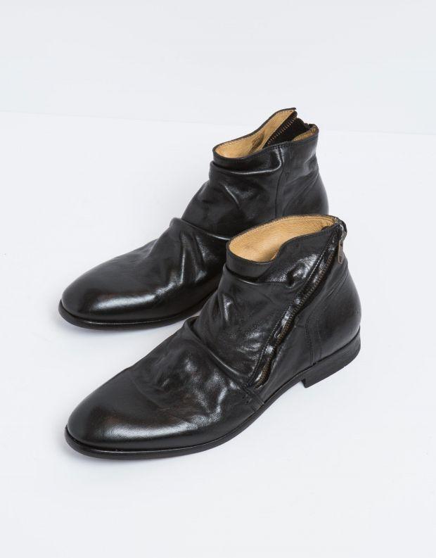 נעלי גברים - Hudson - מגפון NOEL עור - שחור