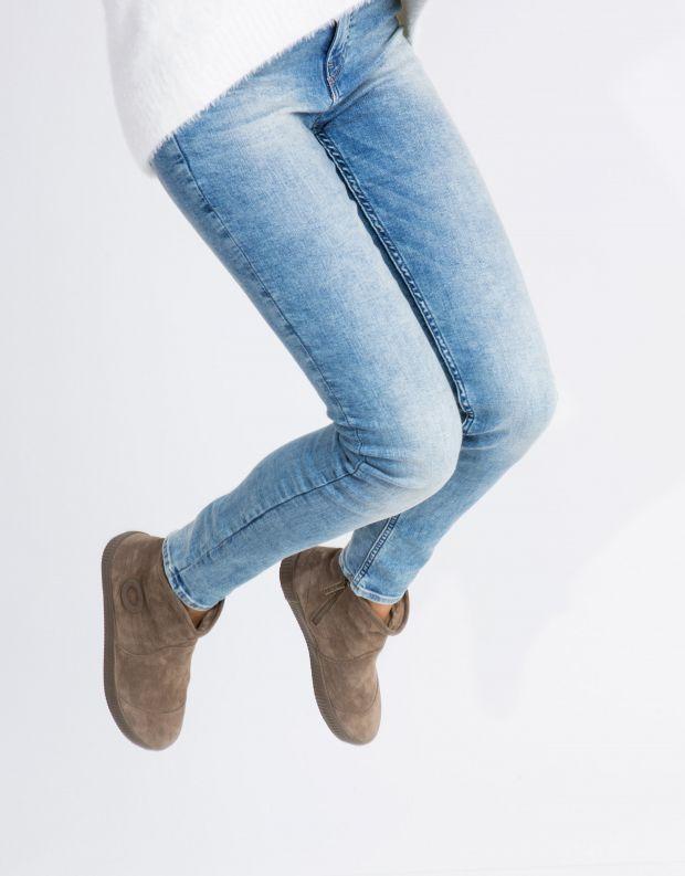 נעלי נשים - Aro - מגפון NOELLE - חום