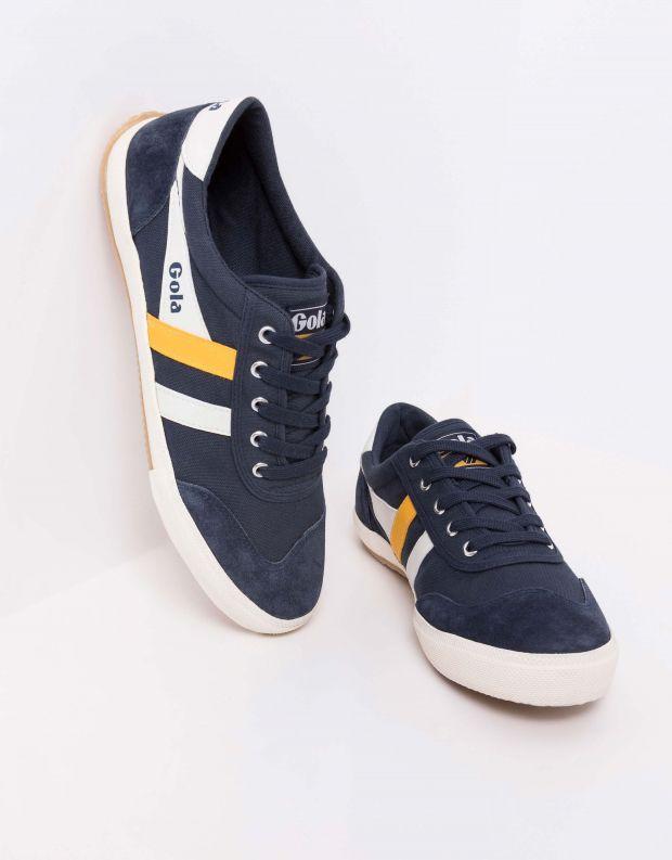 נעלי גברים - Gola - סניקרס BADMINTON - כחול   צהוב