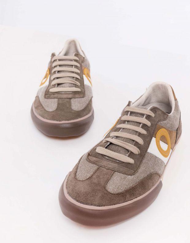 נעלי גברים - Aro - סניקרס POL - חום