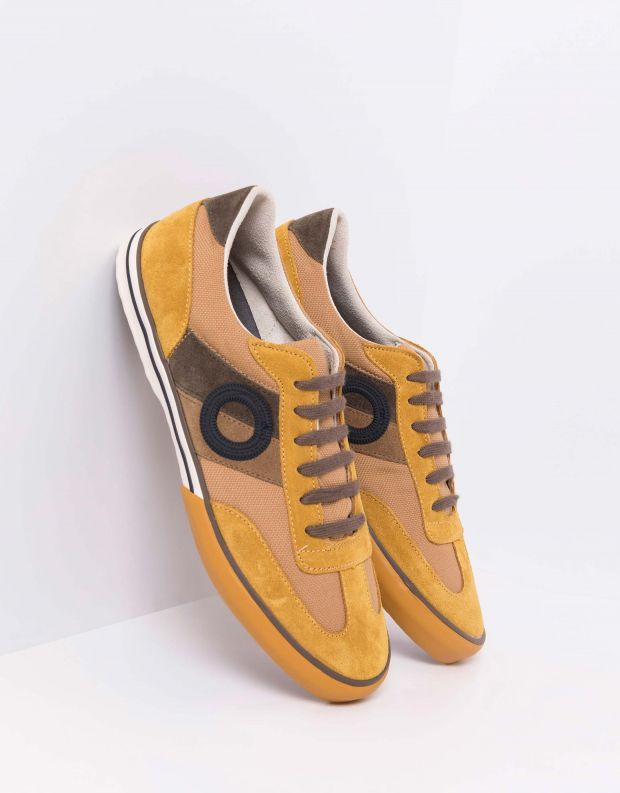 נעלי גברים - Aro - סניקרס POL - צהוב