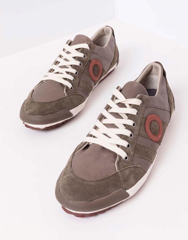 נעלי גברים - Aro - סניקרס IDO B - חום בהיר