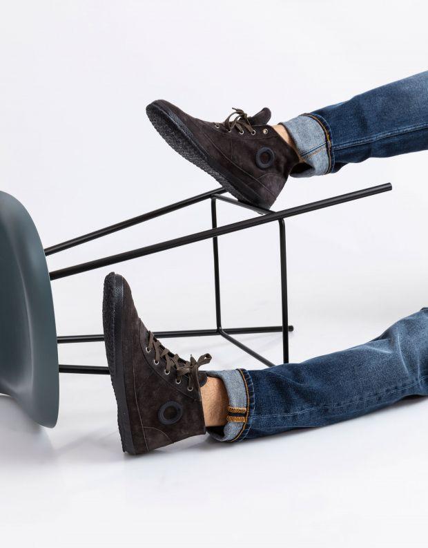 נעלי גברים - Aro - סניקרס WILLY - אפור