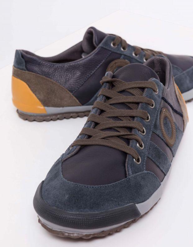נעלי גברים - Aro - סניקרס IDO B - כחול   כתום