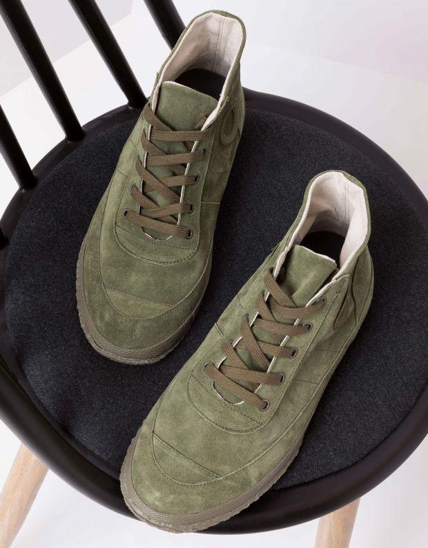 נעלי גברים - Aro - סניקרס WILLY - ירוק