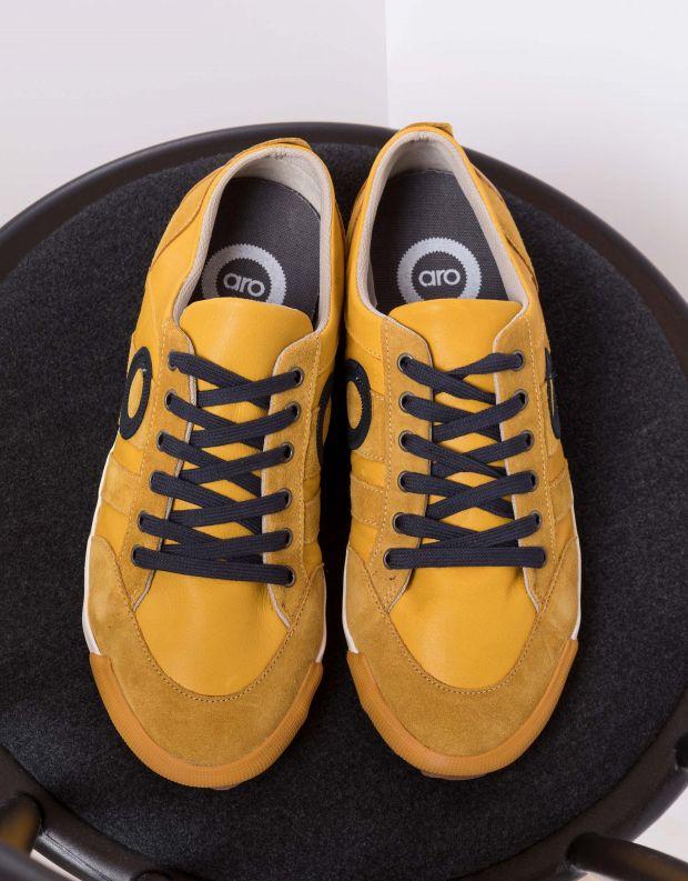 נעלי גברים - Aro - סניקרס IDO B - צהוב