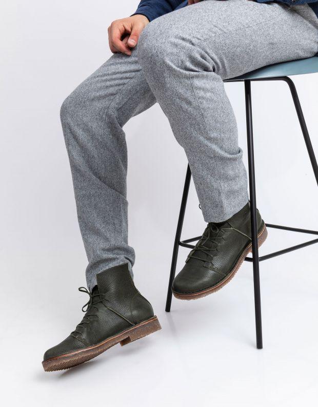 נעלי גברים - loints of Holland - נעליים גבוהות ESSENTIAL - ירוק