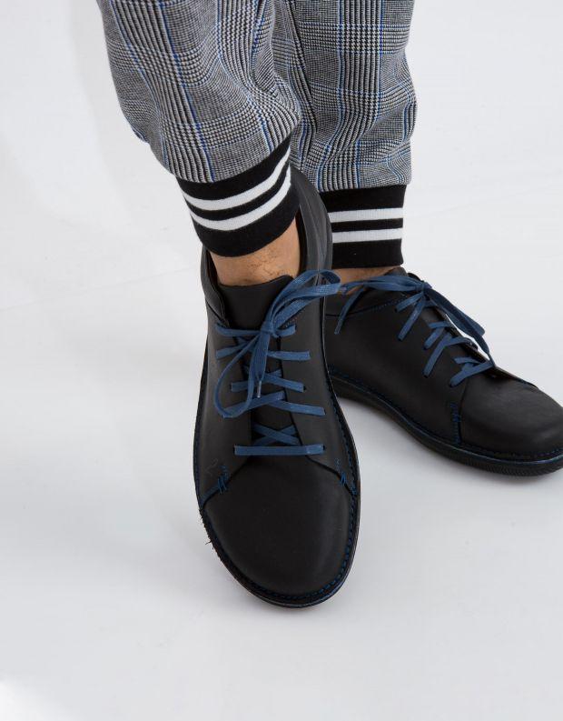 נעלי גברים - loints of Holland - נעל NATURAL - שחור כחול