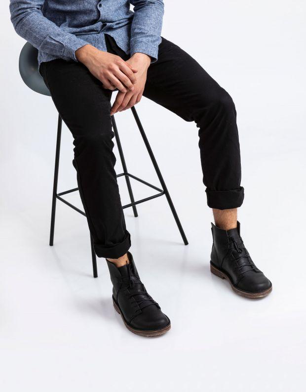 נעלי גברים - loints of Holland - נעליים גבוהות ESSENTIAL - שחור
