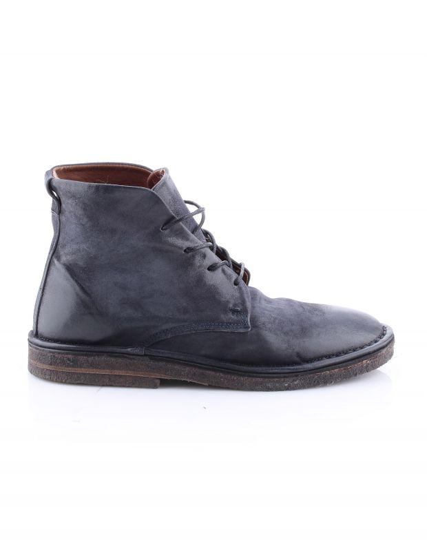 נעלי גברים - A.S. 98 - נעלי שרוכים גבוהות OASIS - שחור