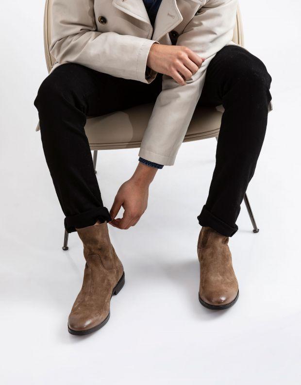 נעלי גברים - A.S. 98 - מגפון MASON - חום בהיר