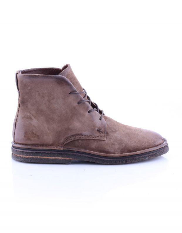 נעלי גברים - A.S. 98 - נעלי שרוכים גבוהות OASIS - חום