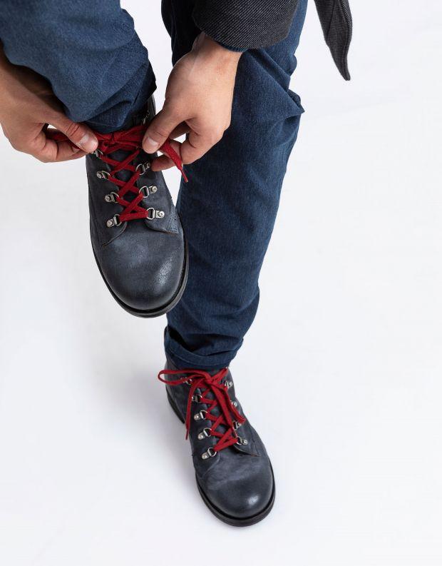 נעלי גברים - A.S. 98 - נעליים עם לולאות ACTON - אפור