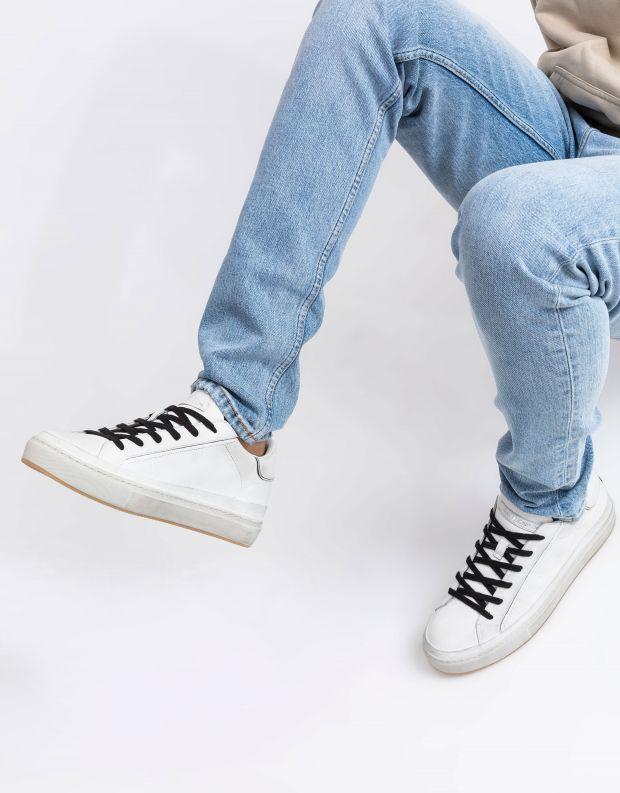 נעלי גברים - Crime London - סניקרס BEAT - לבן