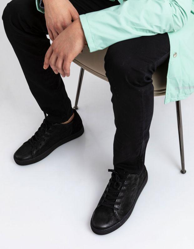 נעלי גברים - Crime London - סניקרס AMUSE - שחור