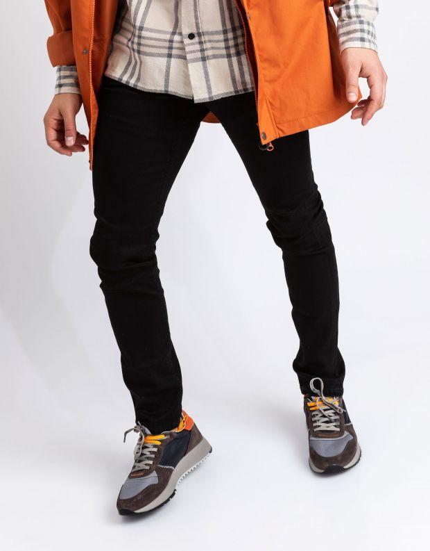 נעלי גברים - Crime London - סניקרס DIFFER צבעוני - אפור   כתום