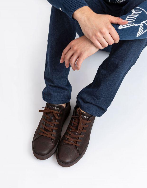 נעלי גברים - Crime London - סניקרס AMUSE - חום