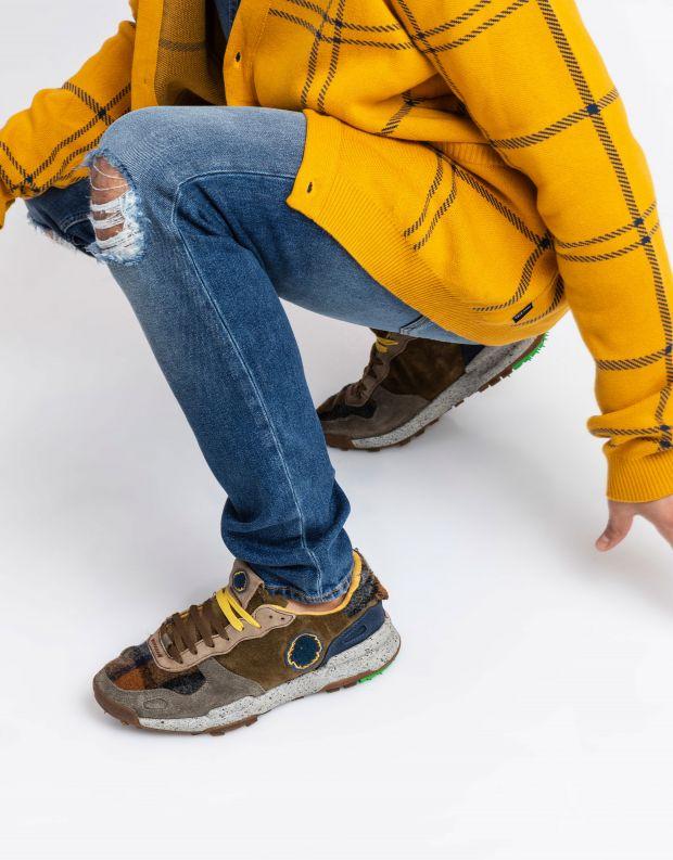 נעלי גברים - Satorisan - סניקרס משולבים CHACRONA - חום