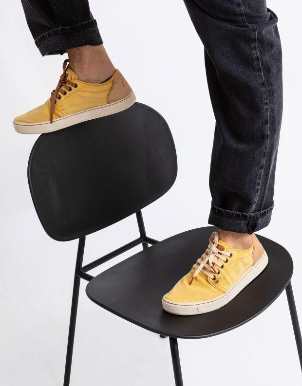 נעלי גברים - Satorisan - סניקרס HEISEI TEXTIL - צהוב