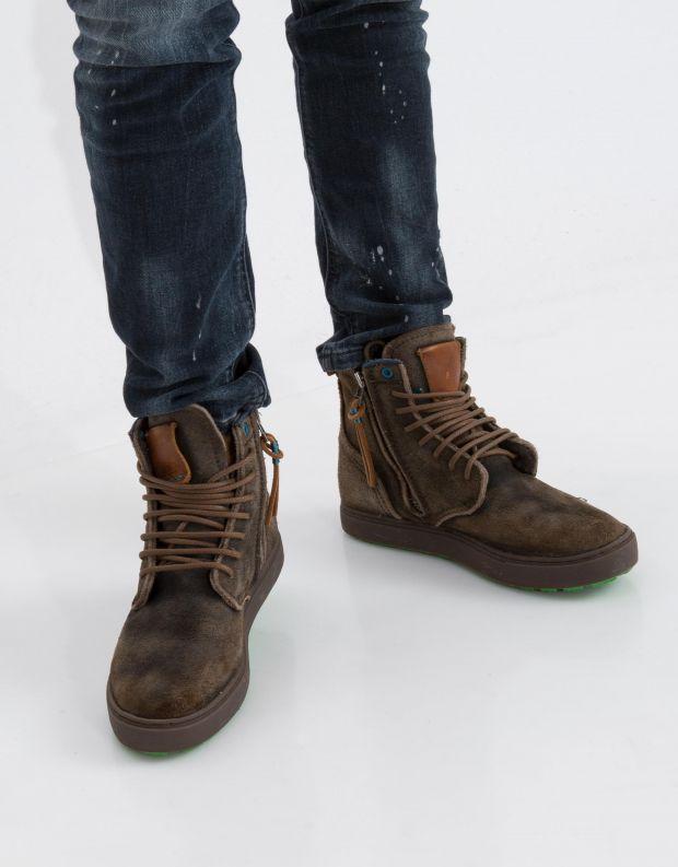 נעלי גברים - Satorisan - נעל HIDA - אבן