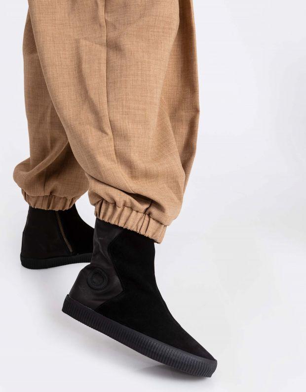 נעלי נשים - Aro - מגפון NOELLE מעטפה - שחור