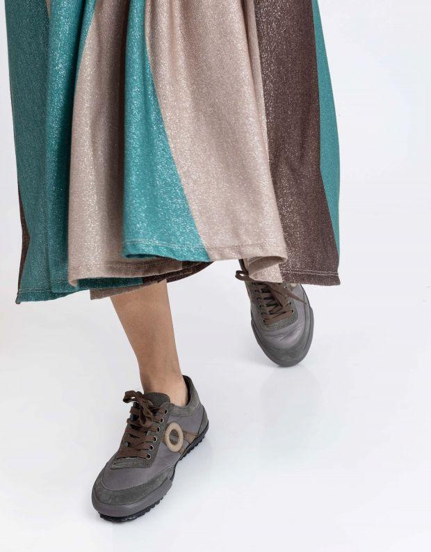 נעלי נשים - Aro - סניקרס IDO - אפור בהיר