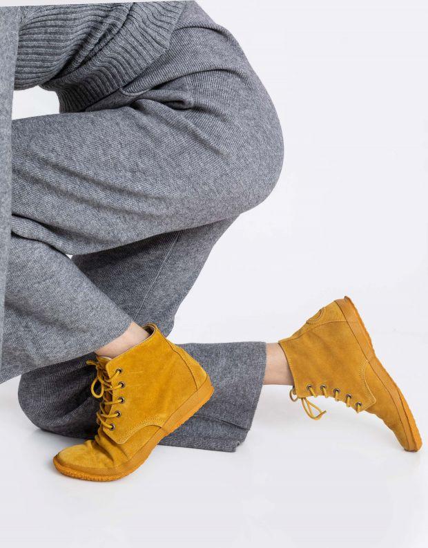 נעלי נשים - Aro - נעל גבוהה WILLY - צהוב