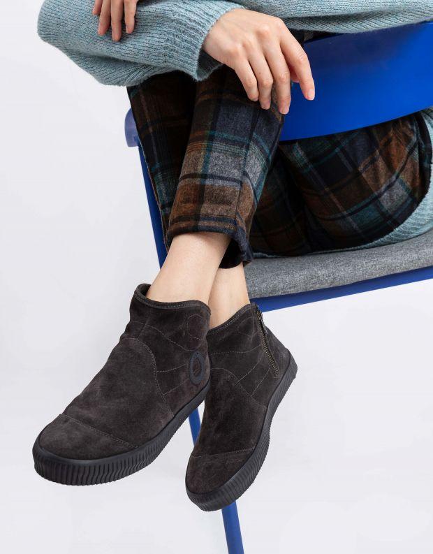 נעלי נשים - Aro - מגפון NOELLE - אפור