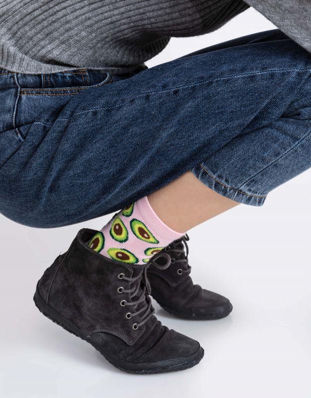 נעלי נשים - Aro - נעל גבוהה WILLY - אפור