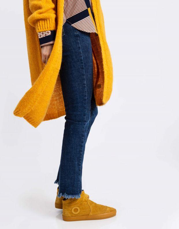 נעלי נשים - Aro - מגפון NOELLE - צהוב