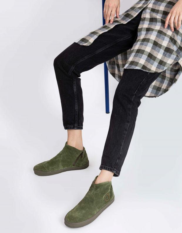 נעלי נשים - Aro - מגפון NOELLE - ירוק