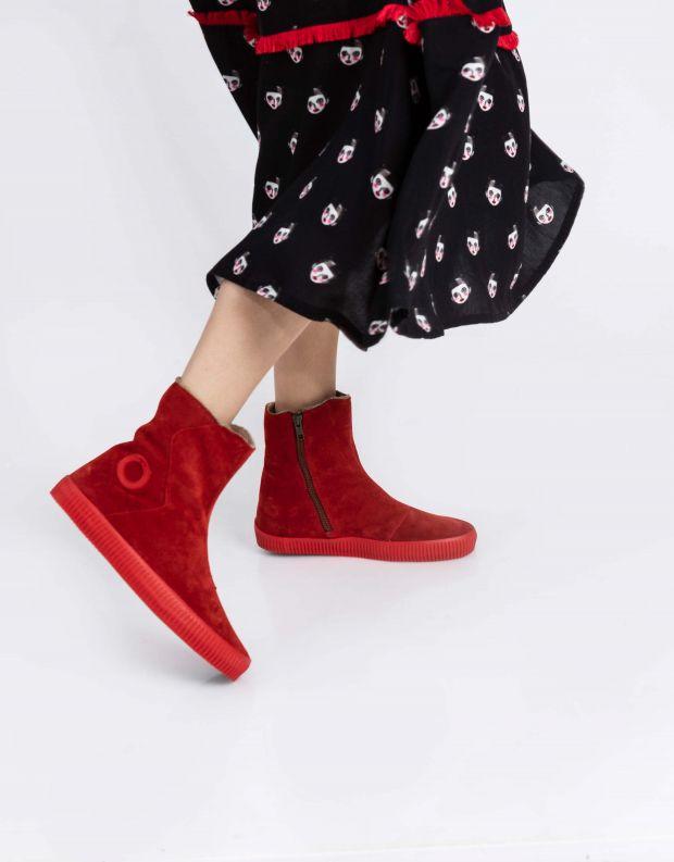 נעלי נשים - Aro - מגפון NOELLE מעטפה - אדום