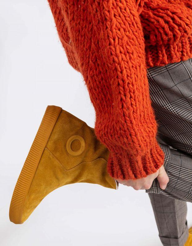 נעלי נשים - Aro - מגפון NOELLE מעטפה - צהוב
