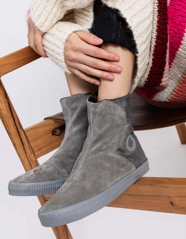נעלי נשים - Aro - מגפון NOELLE מעטפה - כסף