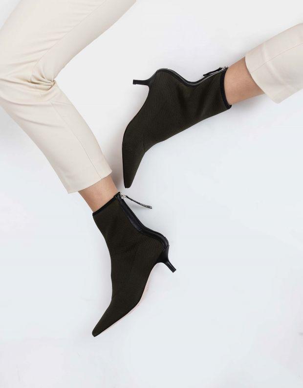 נעלי נשים - Schutz - מגפוני גרב CALULLA - ירוק