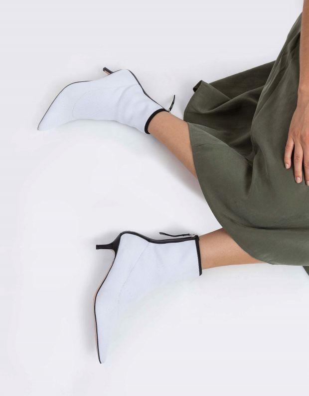 נעלי נשים - Schutz - מגפוני גרב CALULLA - לבן