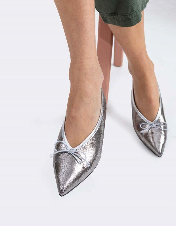 נעלי נשים - Schutz - נעלי בלרינה KALEA - כסף