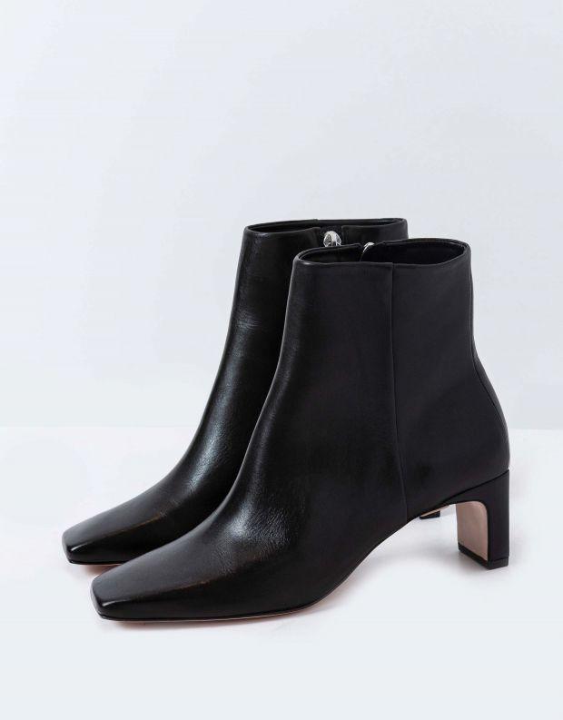 נעלי נשים - Schutz - מגפונים מרובעים MARJI - שחור