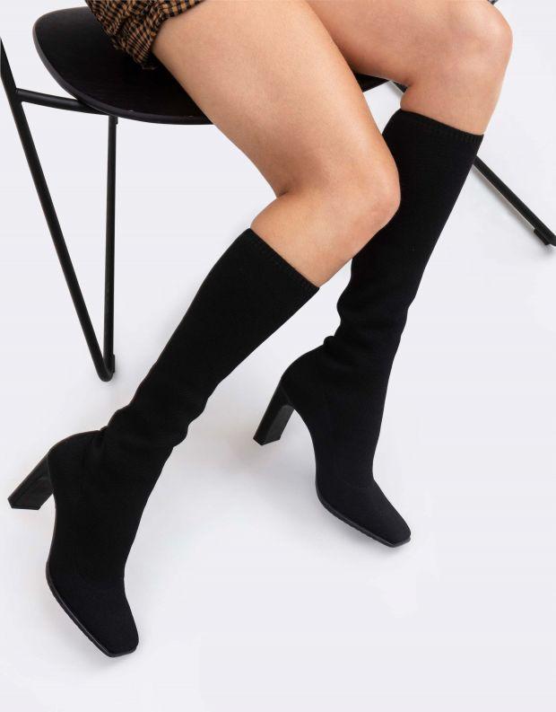 נעלי נשים - Schutz - מגפי גרב MIMMI - שחור