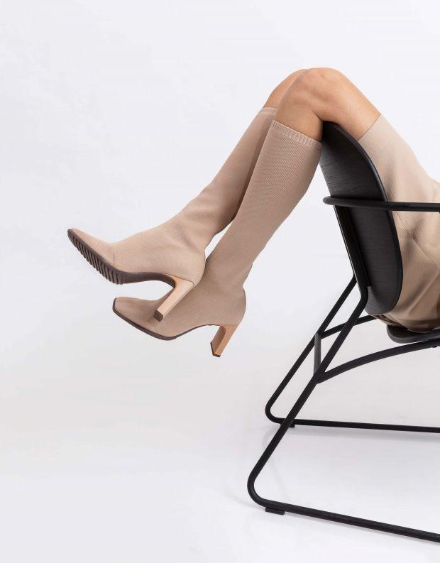 נעלי נשים - Schutz - מגפי גרב MIMMI - אופוויט