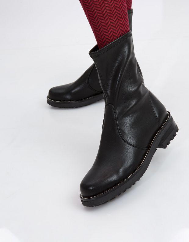 נעלי נשים - NR Rapisardi - מגפון IDRA - שחור