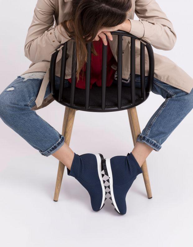 נעלי נשים - NR Rapisardi - מגפון BERLINO מיוחד - כחול