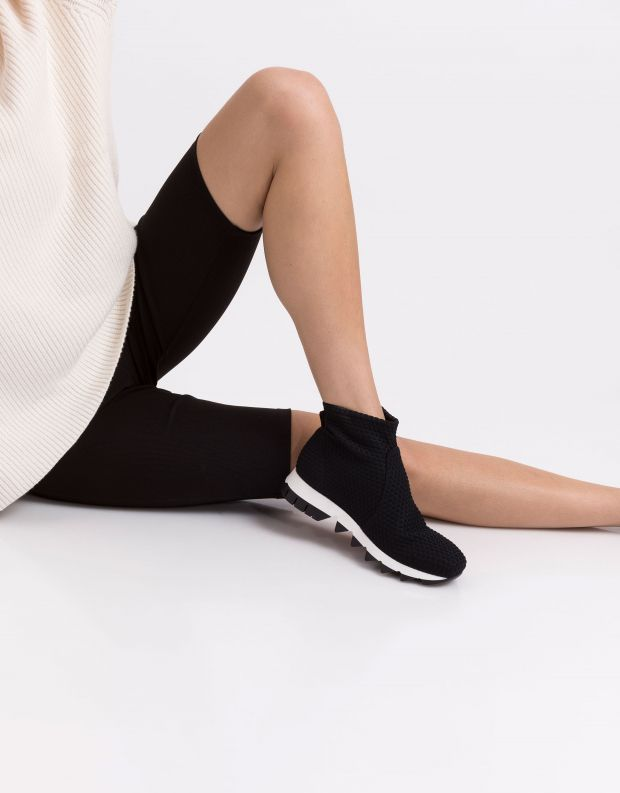 נעלי נשים - NR Rapisardi - מגפון BERLINO מיוחד - שחור