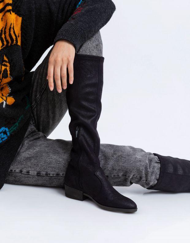 נעלי נשים - NR Rapisardi - מגפיים טבעוניים TECLA - שחור