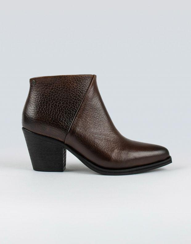 נעלי נשים - Sneaky Steve - מגפוני עור STATE - חום