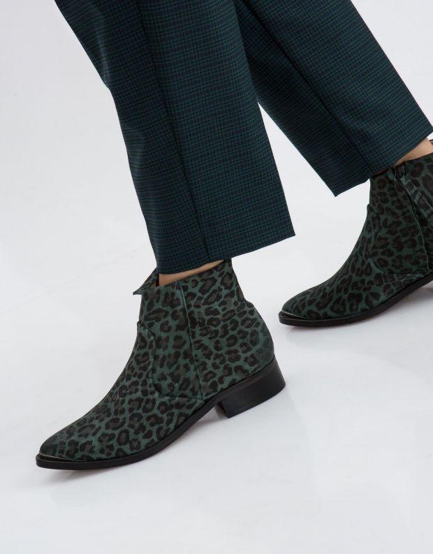 נעלי נשים - Sneaky Steve - מגפון ELECTRIC - ירוק מנומר