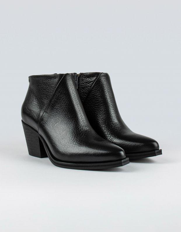 נעלי נשים - Sneaky Steve - מגפוני עור STATE - שחור