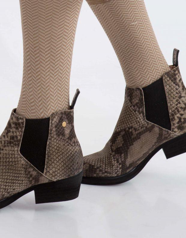 נעלי נשים - Sneaky Steve - מגפון WHOLE - חום נחש