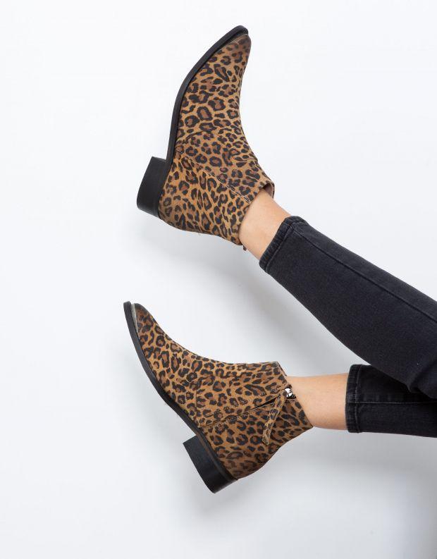נעלי נשים - Sneaky Steve - מגפון ELECTRIC - בז' מנומר